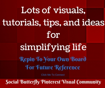pinterest boards on every topic to save you lots of various resources.
