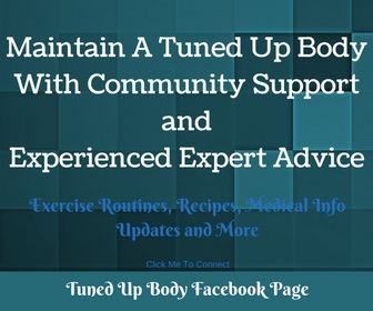 Fitness, nutrition, wellness, recipes and more to help you maintain a Tuned Up Body lifestyle.